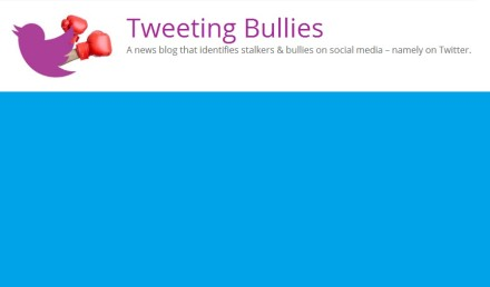 tweeting bullies logo